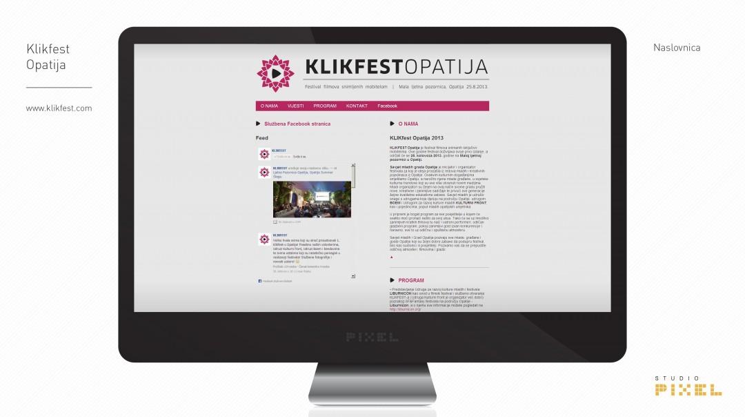 Klikfest Opatija – Festival filmova snimljenih mobitelom